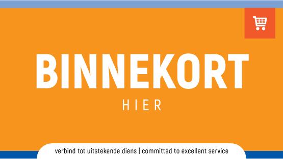 Promosieblad - BINNEKORT HIER