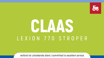 Claas Lexion 770 Stroper