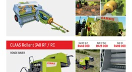 Special on Claas balers