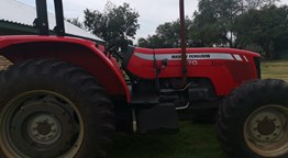 Used MF 470 Xtra 4wd Tractor