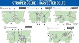 Alternative Belts for JD Combine Harvesters