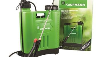Tuinspuit groen rugsak Kaufmann 16L