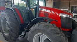 Used 2019 MF 6711 Cab Tractor