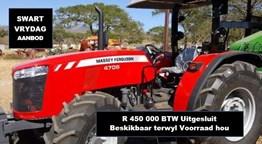 Demo Tractors: MF4708 4x4 Platform 61kW tractor