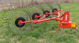 New Hay Rake (Four Wheel)