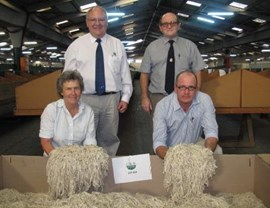 MOHAIR MARKET FLEXES ITS MUSCLES